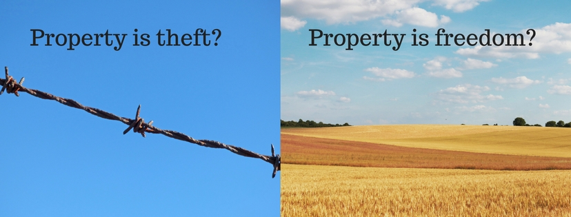 Property is theft_
